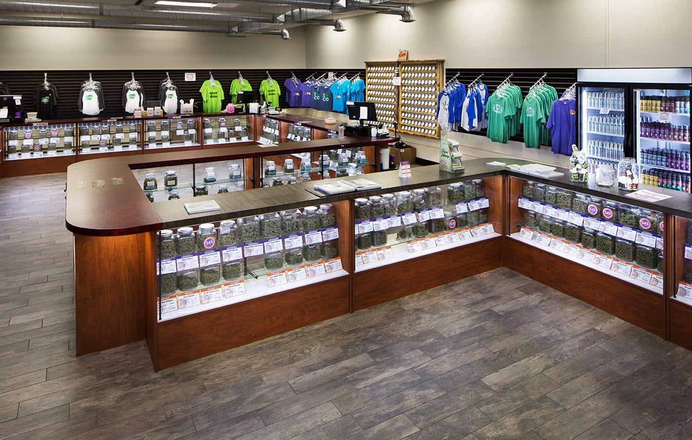 Denver recreational dispensaries denver recreational dispensary denver co reviews menu - Cannabis interior ...